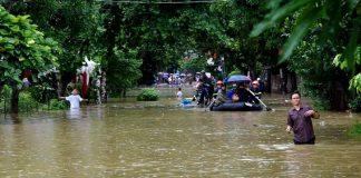 ngập úng ở Hà Giang