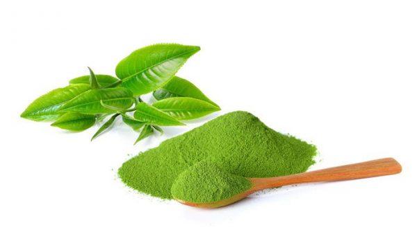 Lá trà xanh rất tốt trong việc làm đẹp