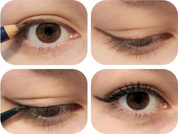 Cách kẻ mắt bằng chì tự nhiên