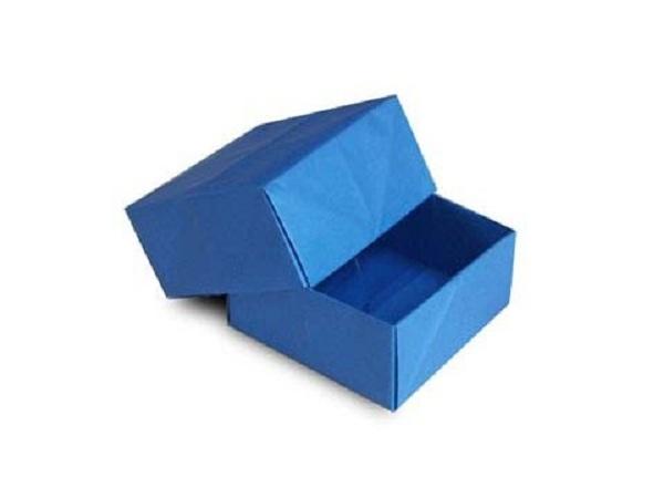 cách gấp hộp giấy đẹp
