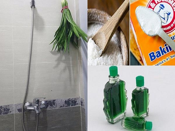 Khử mùi nhà vệ sinh bằng những vật dụng có trong nhà