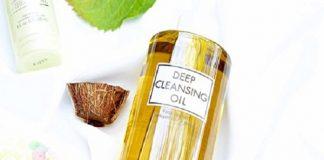 cách dùng dầu tẩy trang