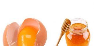 sử dụng mặt nạ trứng gà mật ong