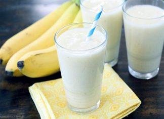 Cách làm sinh tố chuối sữa chua ngon