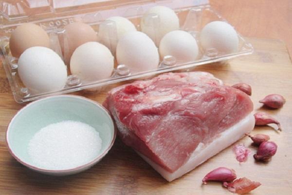 Cách nấu thịt kho trứng cút ngon