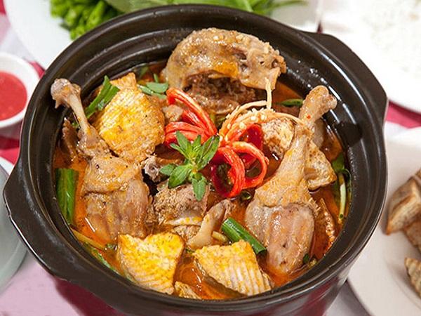 Cách nấu vịt nấu chao với nước cốt dừa
