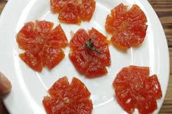 Cách làm mứt cà chua dẻo ngon