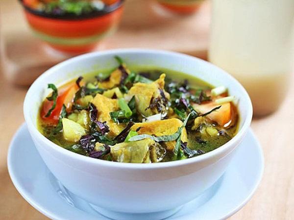 Công thức làm món ếch om chuối đậu đơn giản