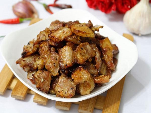 Cách ướp thịt ba chỉ nướng kiểu Hàn Quốc