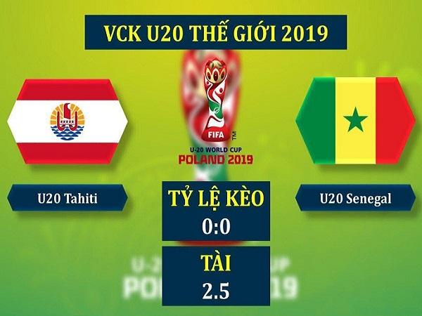 Nhận định U20 Tahiti vs U20 Senegal, 23h00 ngày 23/05