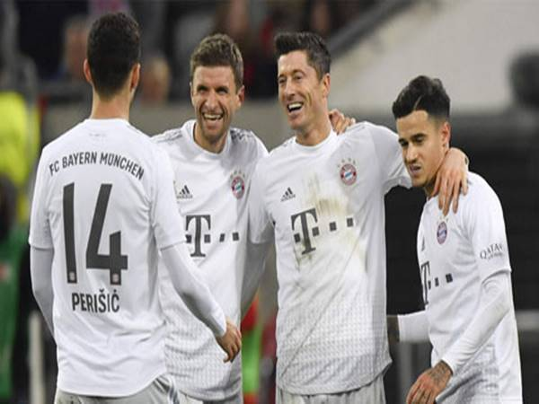 Bayern Munich đại thắng Duesseldorf 4-0