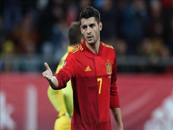 Morata chiến đấu để có vé tham dự Euro 2020