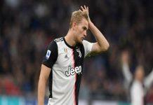 De Ligt bị truyền thông Italia chỉ trích thậm tệ