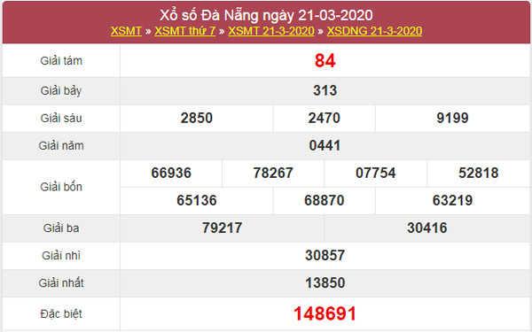 Dự đoán XSDNG 28/3/2020 - KQXS Đà Nẵng thứ 7