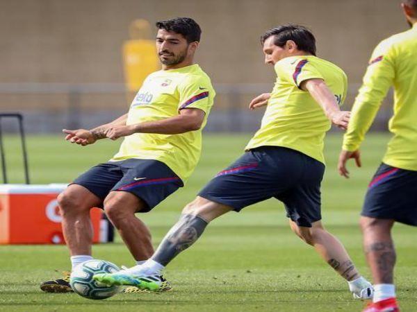Barca thông báo, Messi và Suarez cùng tái xuất