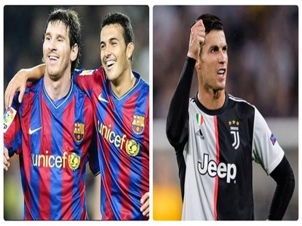Juventus muốn Pedro Rodriguez trợ chiến Ronaldo