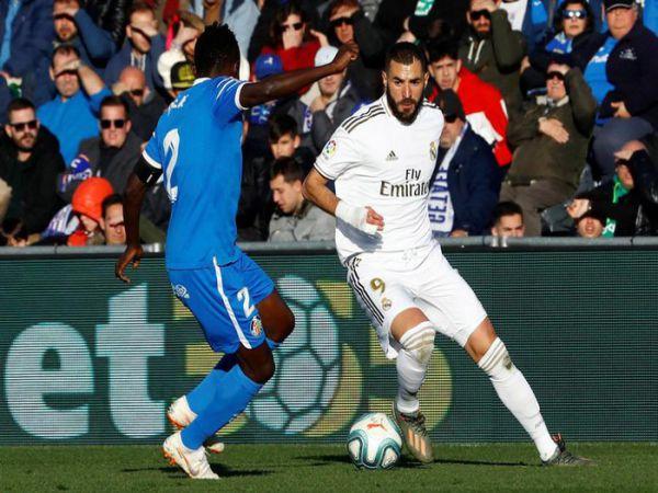 Real Madrid vs Getafe chiến thắng để bứt phá