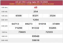 Tổng hợp dự đoán KQXSVL ngày 16/10/2020- xổ sổ vĩnh long