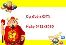 Dự đoán XSTN 3/12/2020
