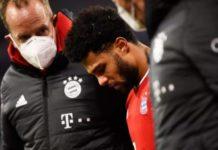 Bóng đá quốc tế 8/1: Bayern Munich có thể mất Gnabry ở trận gặp M'gladbach