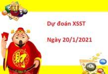 Dự đoán XSST 20/01/2021