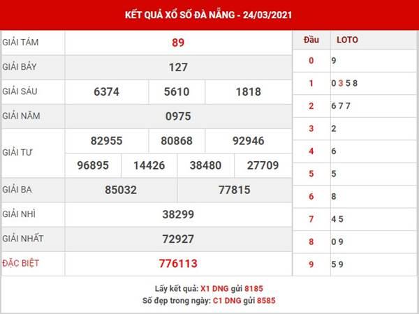 Dự đoán kết quả SX Đà Nẵng thứ 7 ngày 27/3/2021