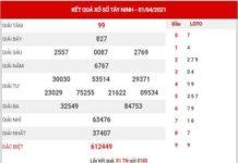 Dự đoán XSTN ngày 8/4/2021 - Dự đoán đài xổ số Tây Ninh thứ 5
