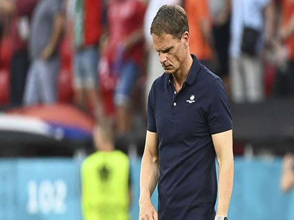 Bóng đá Quốc tế sáng 30/6: Hà Lan sa thải HLV Frank De Boer