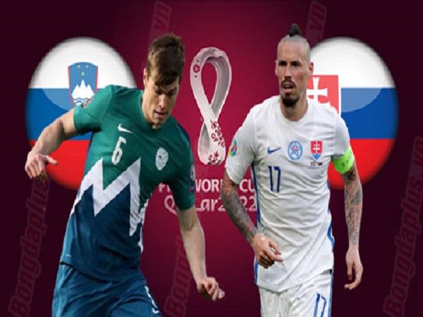 soi kèo Slovenia vs Slovakia 2/9