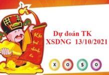 Dự đoán thống kê XSDNG 13/10/2021
